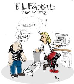El Egoiste: Netz