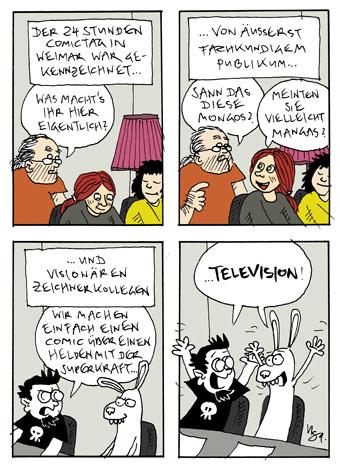 24-Hours Comic Day: Weimar 2011