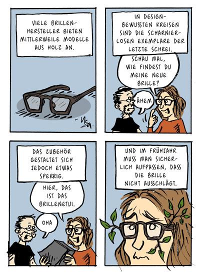 Flausen: Brille