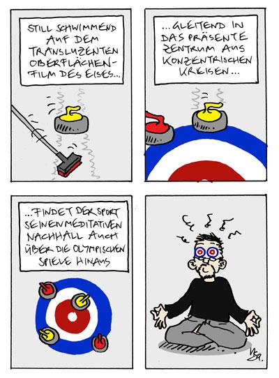 Flausen: Curling