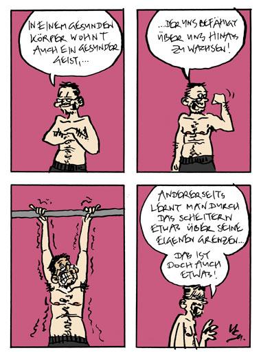 Flausen: Fitness