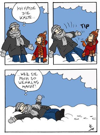 Flausen: Kälte