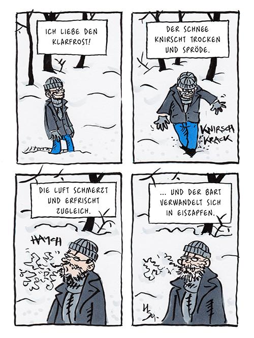 Flausen: Klarfrost