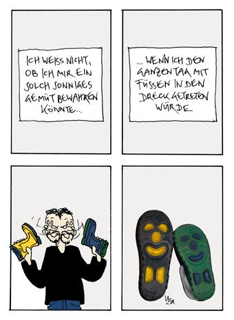 Flausen: Stiefel