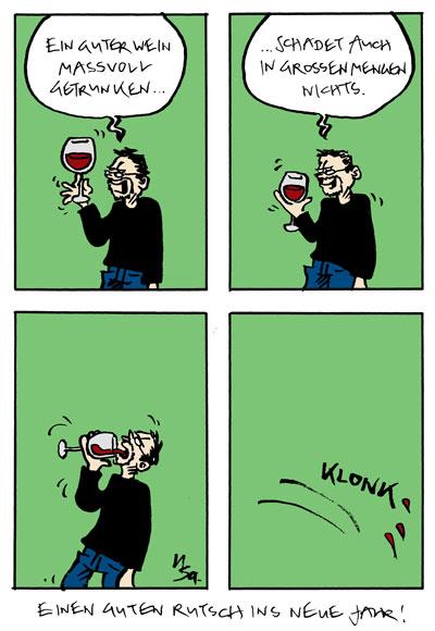 Flausen: Wein