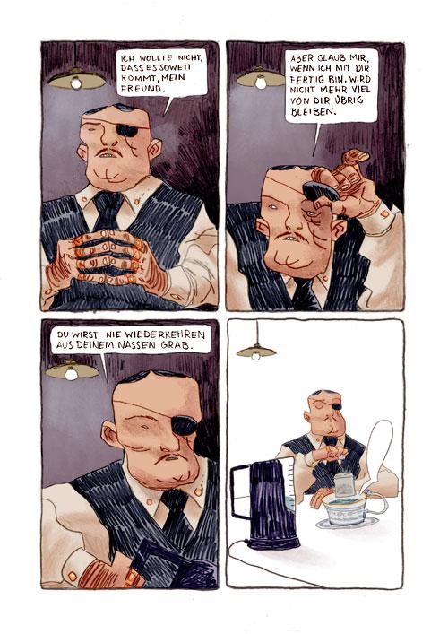 Comicmatscher: Abgetaucht