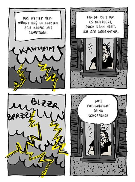 Flausen: Blitze