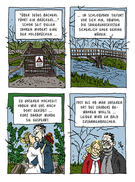Flausen: Brücke