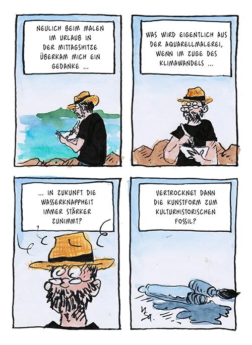 Flausen: Klimaaquarell