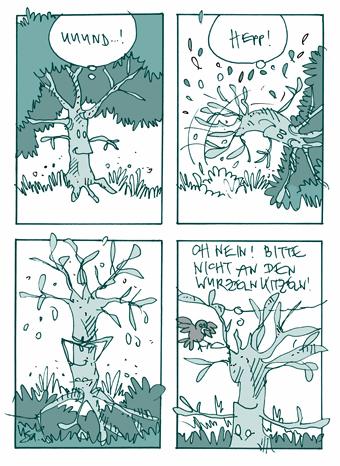 Flausen: Purzelbaum