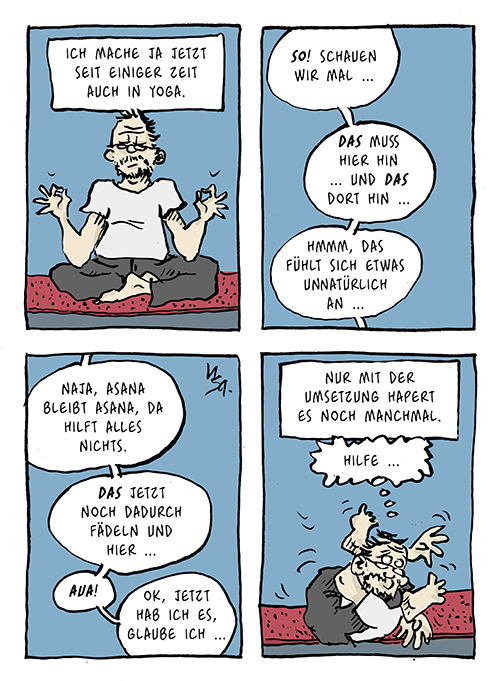 Flausen: Yoga