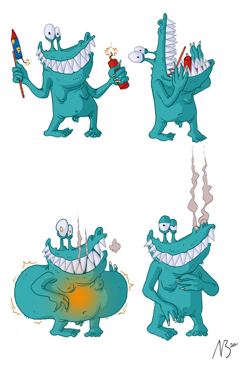 Adrian vom Baur: Monster