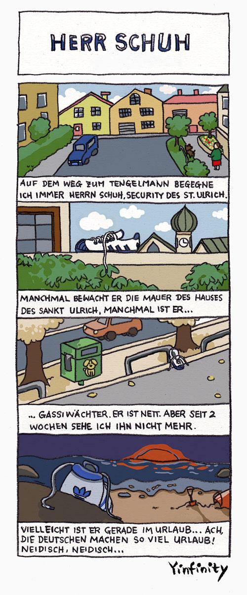 Yinfinity: Herr Schuh