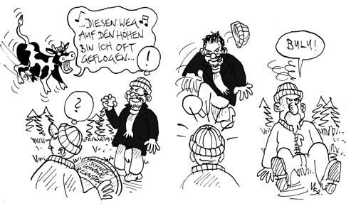 Schneeballschlacht: Ivo Kircheis