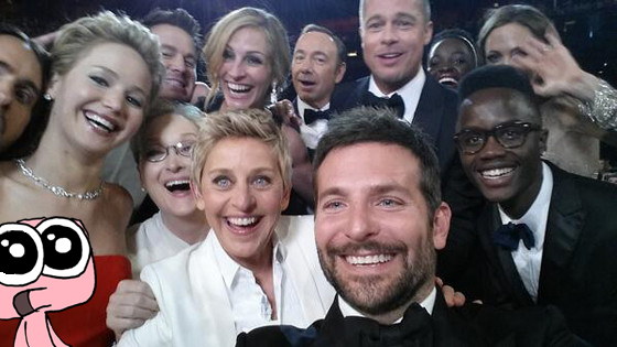 Angst: Selfie Oskars 2014