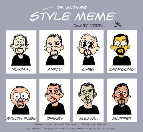 Flausen: Style Meme